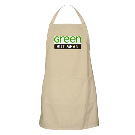 Green But Mean BBQ Apron