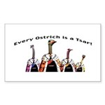 Every ostrich is a Tsar! Sticker