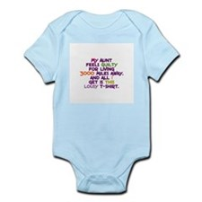My Aunt Feels Guilty Infant Bodysuit