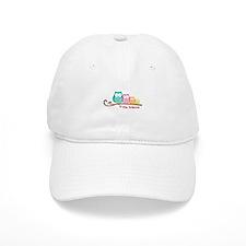 Custom owl family name Baseball Cap
