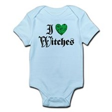 I Love Witches Onesie