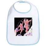Moon Walk Bib