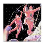 Moon Walk Tile Coaster