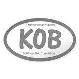 NEW KOB &quot;Teaching...&quot; Oval Decal