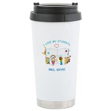 Custom Teacher Ceramic Travel Mug