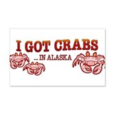 I GOT CRABS IN ALASKA Wall Decal