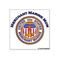 Merchant marine Mom Rectangle Sticker