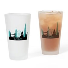 London landmarks Drinking Glass