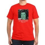 Witch Diane Feinstein Black T-Shirt T-Shirt