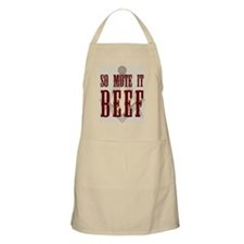 So Mote it Beef Apron