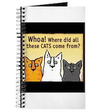 Unique Cat lover Journal