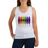 Kayak Rainbow Women's Tank Top