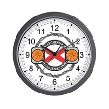 Alabama Basketball Wall Clock