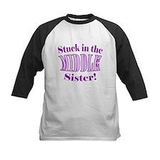 Middle Sister Stuck Purple Tee