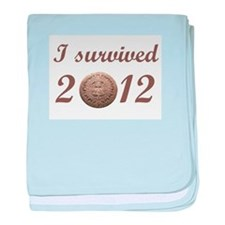 I survived 2012 baby blanket