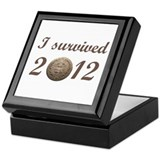 I survived 2012 Keepsake Box