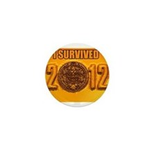 Mayan Calendar Mini Button