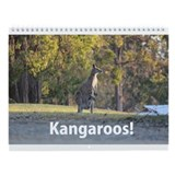 Kangaroo Wall Calendar