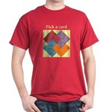 Quilter's Card Trick Cardinal T-Shirt