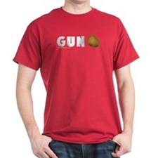 Gun Nut Red T-Shirt