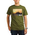 The Shield Of Freedom Organic Men's T-Shirt (dark)