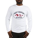 Rocky Mountain Moose Badge Long Sleeve T-Shirt