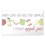 Apple Pie Decal