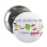 "Apple Pie 2.25"" Button"