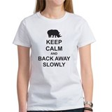 Keep Calm and Back Away Slowly Tee