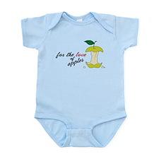 Love Of Apples Infant Bodysuit