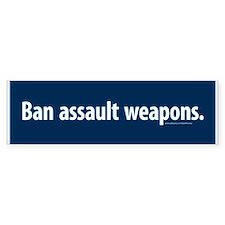Ban assault weapons Bumper Bumper Sticker