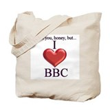 I Love BBC Tote Bag