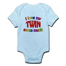 I love my TWIN soooo much! Infant Bodysuit
