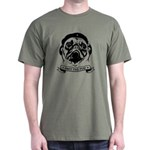 Pug Revolution! Icon Dark T-Shirt