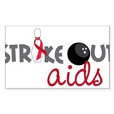 Strike Out Aids Decal