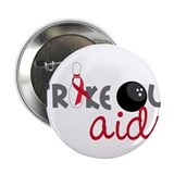 "Strike Out Aids 2.25"" Button"