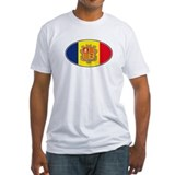Andorran Oval Flag Shirt
