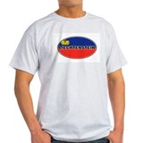 Liechtenstein Flag Ash Grey T-Shirt