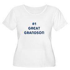 #1 Great Grandson T-Shirt