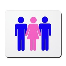 Threesome (MFM) Mousepad
