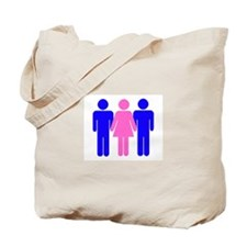 Threesome (MFM) Tote Bag