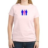Threesome (MFM) Women's Pink T-Shirt