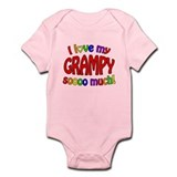 I love my GRAMPY soooo much! Infant Bodysuit
