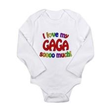 I love my GAGA soooo much! Long Sleeve Infant Body