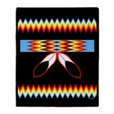 NATIVE PRIDE Throw Blanket