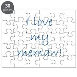 I love my memaw Puzzle