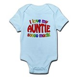 I love my AUNTIE soooo much! Infant Bodysuit