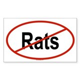 RATS Oval Decal