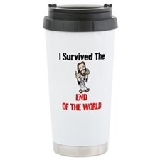End of The World Survivor Ceramic Travel Mug