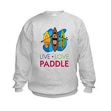Live Love Paddle Sweatshirt